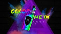 SMOK ProColor 225W Kit has the industry's leading design and new features,designed with innovative shield shaped area consists of OLED screen. Powered by dual 18650 batteries, the maximum output power can up to 225W, supports TC/VW modes. The ProColor kit will show you perfect self, innovation keeps changing the vaping experience!