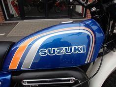 Centre Points for 1973 Suzuki TS 125 K