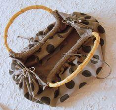 valisettes - sacs - etuis couture acessoires ( diy t - tutolibre Wooden Handle Bag, Diy Sac, Diy Bags Purses, Diy Handbag, Handmade Purses, Craft Bags, Bag Patterns To Sew, Denim Bag, Fabric Bags