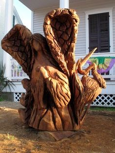 Touring Galveston Island's Tree Sculptures