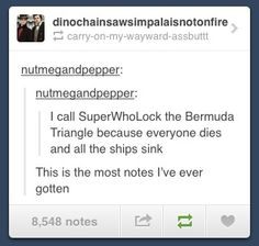 This is the truest of all true things I have ever read about Superwholock.