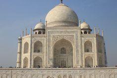 Taj Mahal Seitenansicht