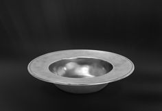Pewter Bowl - Diameter: 20 cm (7,9″) - Food Safe Product - #bowl #pewter #catinella #ciotola #scodella #bacinella #peltro #zinnschüssel #schüssel #zinn #étain #etain #peltre #tinn #олово #оловянный #tableware #dinnerware #table #accessories #gifts #giftware #home #housewares #decor #design #bottega #peltro #GT #italian #handmade #made #italy #artisans #craftsmanship #craftsman #primitive #vintage #antique