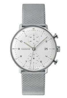 Max Bill Chrono by  Uhrenfabrik Junghans