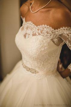 b8164418351 Wedding Lace Bolero Off-shoulder Bolero Long Sleeve Lace