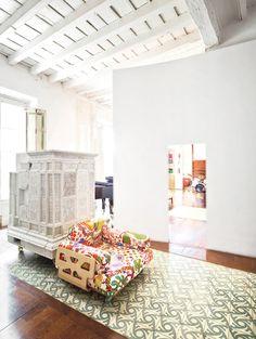Benedetta-Tagliabue-18th-Century-Apartment-Interior-Barcelona yellowtrace 08