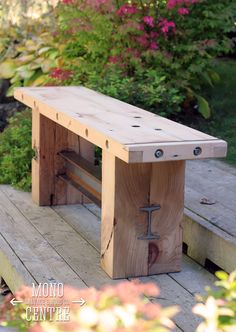 The most effective backyard bench wall concepts 1586877332 . The most effective backyard bench wall concepts 1586877332 . Industrial Furniture, Rustic Furniture, Garden Furniture, Diy Furniture, Timber Furniture, Industrial Metal, Furniture Projects, Wood Projects, Woodworking Projects