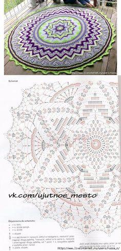 El tapiz pequeño redondo de \'Mandala\'.
