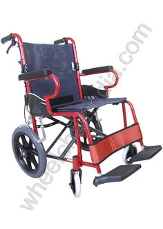Karma Mobility likes to think of everything when it comes to mobility equipment and this Travel Chair is no exception. This fantastic wheelchair has been designed so that it can neatly fold into a small package for easy transportation or storage. Don't be put off by the fact that it's a travel chair; this chair comes with larger rear wheels, unlike most travel chairs, which makes it a much more comfortable ride for users, even outdoors.