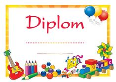 Diplom - univerzálny | Nomiland.sk - obchod pre deti a materské školy