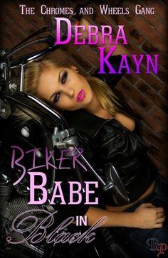 Biker Babe in Black