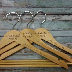 Hey, I found this really awesome Etsy listing at https://www.etsy.com/listing/196990675/wedding-dress-hanger-personalized