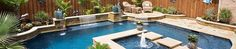 Check out this pool we custom designed! #swimmingpools