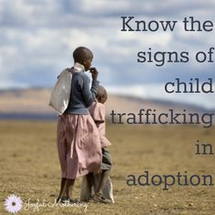 Adoption and Child Trafficking