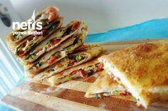 Pratik Kahvaltı Böreği (Pizza Tadında) Tarifi