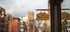 The Wayland -- cocktails, oysters, live music, and the perfect friday happy hour.