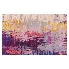 Check out this item at One Kings Lane! Petra Rug, Yellow/Violet