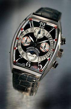 Perpetual biretro, Franck Muller #watch © David Cantwell.