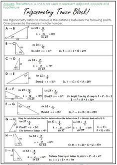 by 123 Math Geometry Formulas, Math Formulas, Teaching Geometry, Teaching Math, Algebra, Trigonometry Worksheets, Math Formula Chart, Math Quotes, Math Charts