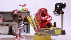 Peppa la Cerdita el Dentista Stop Motion Vídeo Plastilina Play Doh   Pep...