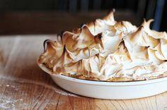 Grandma's Chocolate Cream Pie by @Kristen Wogan Doyle of Dine & Dish