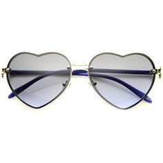 a2410e467bb5 Womens Rimless Sunglasses With UV400 Protected Gradient Lens