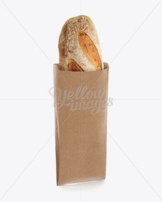 Kraft Paper Bakery Bag Mockup