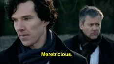 Look at Sherlock's little shrug  it's like he's trying to play off how happy John's compliment made him  so cute