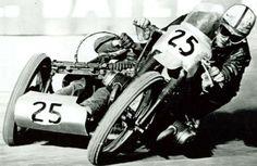 Sidecar motorcycle racing