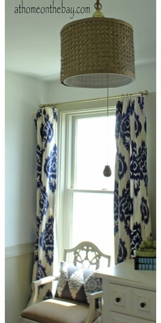 diy ikat curtains purchased ikat patterned material then sew them into curtains at home on the bay
