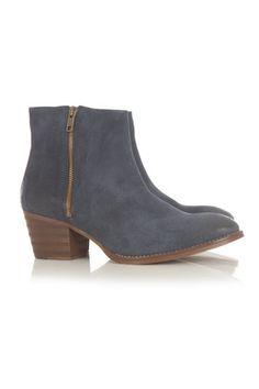 Maya McQueen Rafaela Boot Piuma Suede Loafers d542de70887