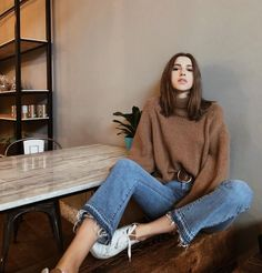 destinyjohnston_ Ootd Fashion, Fashion 2017, Fashion Trends, Fashion Outfits, Womens Fashion, Fashion Lookbook, Winter Outfits, Casual Outfits, Outfits Mujer