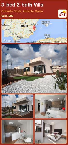 3-bed 2-bath Villa in Orihuela Costa, Alicante, Spain ►€215,900 #PropertyForSaleInSpain
