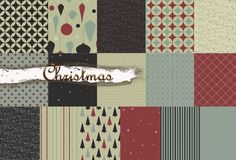 Christmas Digital Paper RedGreyBeige-Retro Christmas Christmas Paper, Retro Christmas, Christmas Background, Paper Background, Yellow Daisies, Grey And Beige, Digital Image, Connect, Card Making