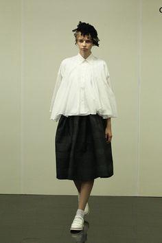 2014 SS Women's: tricot COMME des GARCONS Afloat × Folklore