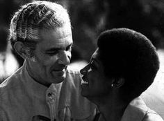 Prime Minister Michael Manley with his wife Beverley, Jamaica   Caribbean