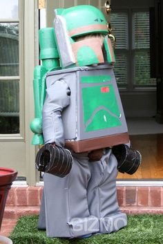 Lego Boba Fett Costume - my son decided this is what he wants to be for Halloween this year.