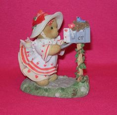 Cherished Teddies HEIDI Sealed With A Kiss  Great VALENTINE GIFT