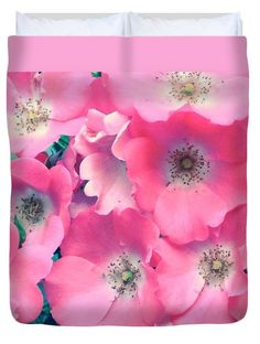 """Softest Pinks  Queen (88"""" x 88"""") Duvet Cover by Anna Porter"""