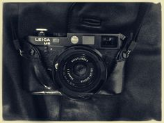 Leica M6… Black on Black…New horizons continues with...