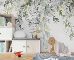 World Map Wallpaper, Kids Room Wallpaper, Wall Wallpaper, Wallpaper Paste, Kindergarten Wallpaper, Standard Wallpaper, Botanical Wallpaper, World Map Wall Art, Room Decor
