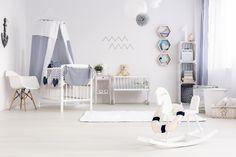 Minimalistyczny pokój niemowlaka | designarto.pl