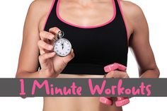 One Minute Workouts to Break Your All-Or-Nothing Mentality