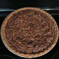 The secret to this rich pie is cooking the sugar and corn syrup first. It is definitely not diet food! I bake this pie for 45 minutes according to my oven but you may need to bake longer. Thanksgiving Desserts, Holiday Desserts, No Bake Desserts, Holiday Recipes, Delicious Desserts, Yummy Food, Best Pecan Pie, Pecan Pie Bars, Pie Recipes