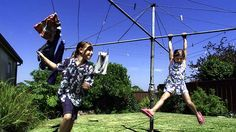Remember Swinging on the Hills Hoist Clothes Line? Australia Day, Our Kids, Bullying, Childhood Memories, Growing Up, Melbourne, Victoria, World, Children