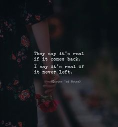 They say its real if it comes back. I say its real if it never left. by: Adem Baris via (http://ift.tt/2CSmNWI)