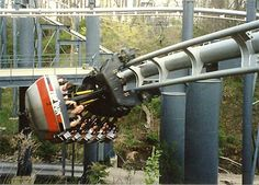 I love King's Island in Mason, Ohio.  I spent my honeymoon here.  Top gun (now called Flight Deck) is my all time favorite ride.