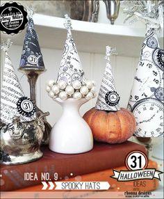 Rhonna DESIGNS: Idea No. 9: 31 Halloween Ideas w/ Rhonna Designs- Spooky Hats
