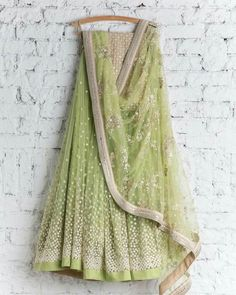 Cool lengha! For your BFF's wedding.
