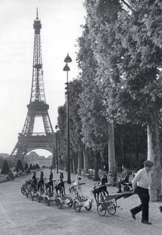 Paris In The 40's & 50's By Doisneau...